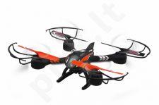 Radio bangomis valdomas Jamara Loky dronas su FPV monitoriumi ir vaizdo kamera
