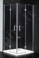 Dušo kabina BEC94 skaidri be pado (tik stiklai)