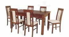 Stalas 3 + 6 kėdės