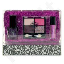 Makeup Trading Schmink Set Glitter Fuchsia rinkinys moterims, (Complet Make Up Palette)