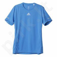 Marškinėliai bėgimui  Adidas Sequencials Climalite Running Tee M AX7530