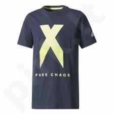 Marškinėliai adidas YB X Tee Junior CE9019
