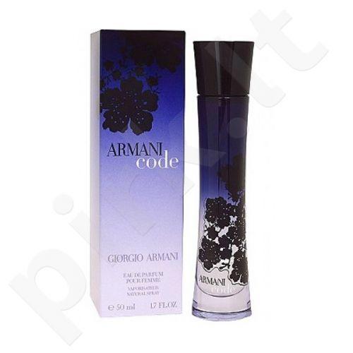 Giorgio Armani Armani Code Women, kvapusis vanduo moterims, 50ml
