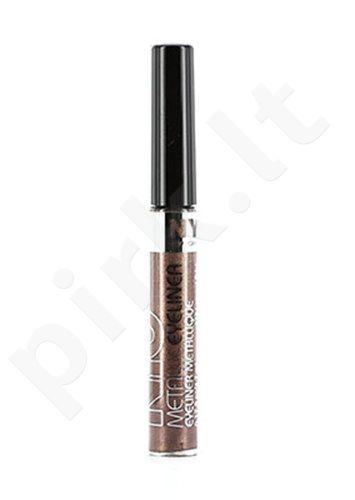 NYC New York Color Metallic Liquid akių kontūrų priemonė, kosmetika moterims, 4,7ml, (865 Silver Light)