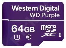 WD Purple Micro SDHC 64GB