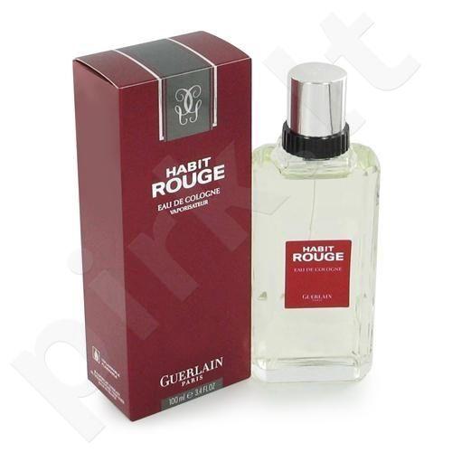 Guerlain Habit Rouge, tualetinis vanduo (EDT) vyrams, 100 ml (Testeris)