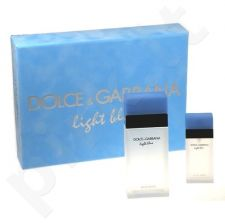 Dolce & Gabbana (EDT 100 ml + 25 ml EDT) Light Blue, rinkinys moterims