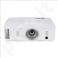 Acer X1385WH WXGA/16:10/1280x800/3200Lm/20000:1/Zoom x1.1/Lamp 4000-10000h/VGAx2