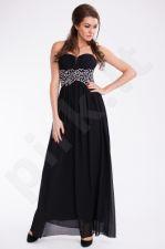 EVA&LOLA suknelė - juoda 9610-1