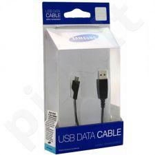 Samsung APCBU10BBE micro USB kabeliukas universalus juodas