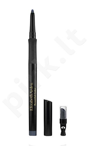 Elizabeth Arden Beautiful Color, Precision Glide, akių kontūrų pieštukas moterims, 0,35g, (01 Black Velvet)