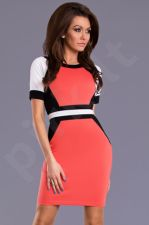 Emamoda suknelė - arbūzinė 8603-3