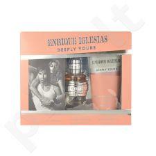 Enrique Iglesias Deeply Yours rinkinys moterims, (EDT 40ml + 200ml dušo želė)