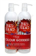 Tigi Bed Head Colour Goddess, rinkinys šampūnas moterims, (750ml Bed Head Colour Goddess šampūnas + 750ml Bed Head Colour Goddess kondicionierius)