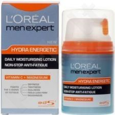 L´Oreal Paris Men Expert Hydra Energetic Lotion, kosmetika vyrams, 50ml