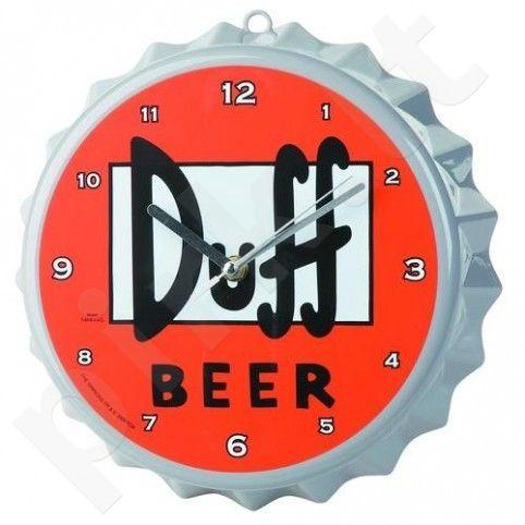 """Simpsonų laikrodis """"Duff beer"""""""