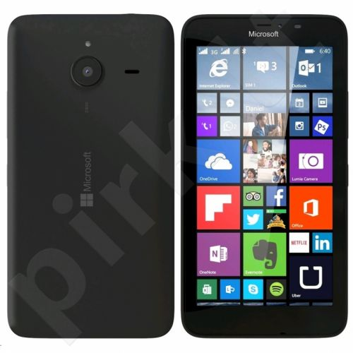 Microsoft Lumia 640 Single Sim Black