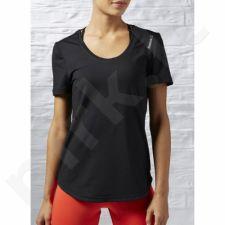 Marškinėliai treniruotėms Reebok Workout Ready Short Sleeve Tee W AJ3415