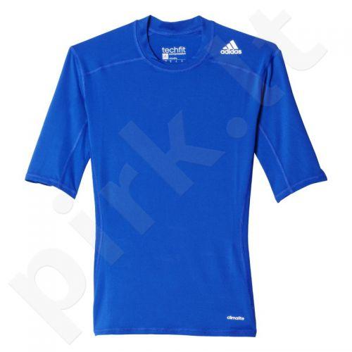 Marškinėliai kompresiniai Adidas Techfit Base Short Sleeve M AJ4972