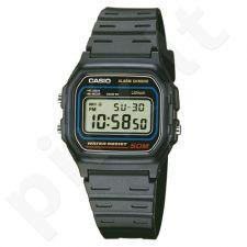 Casio Collection W-59-1VQES vyriškas laikrodis-chronometras