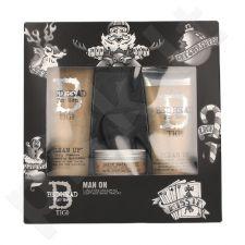 Tigi Bed Head plaukų priežiūros rinkinys vyrams, (250ml Bed Head valomasis šampūnas + 200ml Bed Head valomasis pipirmėtės kondicionierius + 85g Bed Head matinis plaukų vaškas )