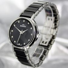 Moteriškas laikrodis BISSET Swan BSBD01 LS BK