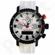Vyriškas laikrodis Vostok Europe Benediktas Vanagas WHITE EDITION 9516-5554355