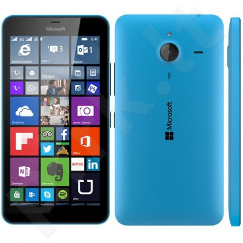 Microsoft Lumia 640 Single Sim Cyan