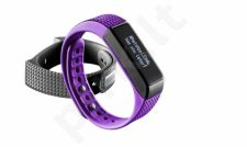 Bluetooth Fitness Tracker EasyFit Touch by Cellular Purpurinė