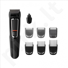 Kirpimo mašinėlė Philips 8-in-1 Multigroom series 3000