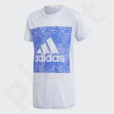 Marškinėliai adidas Essentials Logo in the Box Tee Junior CF7250