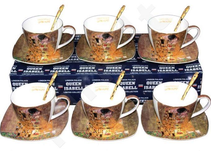 6 puodelių rinkinys