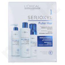 L´Oreal Paris Serioxyl 1 storinantis plaukus rinkinys moterims, (250ml atstatantis plaukus šampūnas + 250ml atstatantis plaukus kondicionierius + 125ml storinančios plaukus putos)