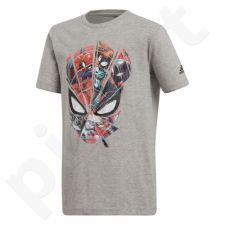Marškinėliai adidas Spider Man Junior CE5389