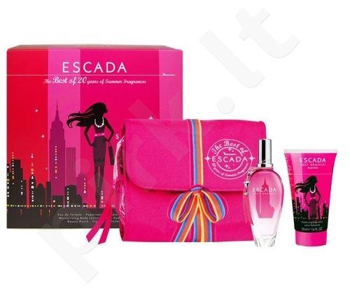 Escada (EDT 50 ml + 50 ml kūno losjonas + Bag) Sexy (Pink) Graffiti 2011, rinkinys moterims