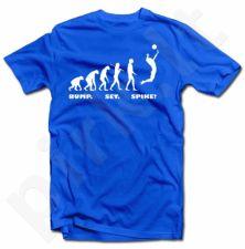 """Marškinėliai """"Tinklinio evoliucija"""""""