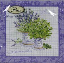 Servetėlės Basil & Lavender 94983