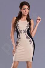 Emamoda suknelė - kreminė 9402-3
