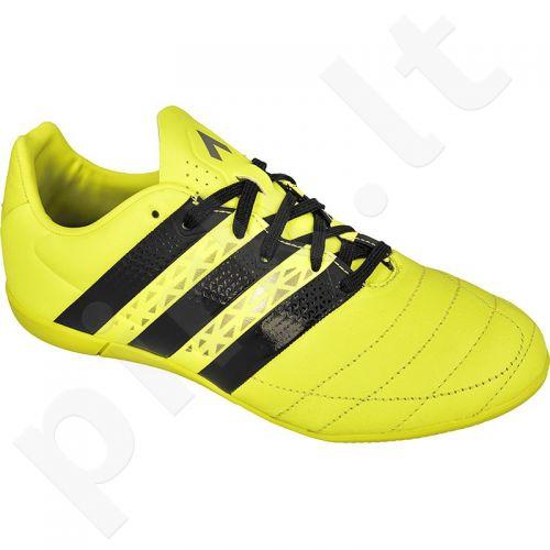 Futbolo bateliai Adidas  ACE 16.3 IN Leather Jr AQ6382