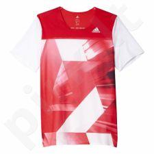 Marškinėliai bėgimui  Adidas Adizero M S93581