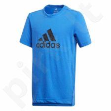 Marškinėliai adidas Youth Prime Logo Tee Junior CF7079
