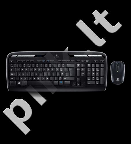 Logitech Wireless combo, Desktop MK330