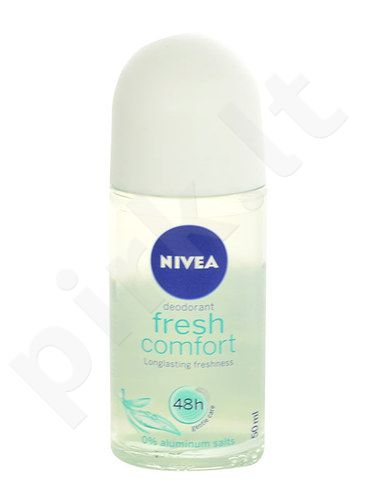 Nivea Fresh Comfort Anti-perspirant Roll-on 48H, kosmetika moterims, 50ml