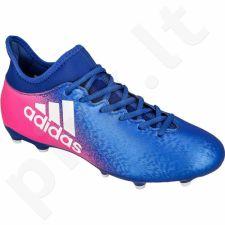 Futbolo bateliai Adidas  X 16.3 FG M BB5641