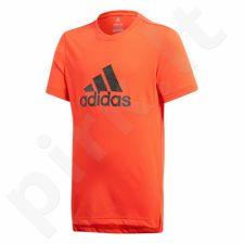 Marškinėliai adidas Youth Prime Logo Tee Junior CF7080