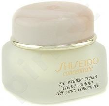 Shiseido CONCENTRATE Eye Wrinkle Cream, 15ml, kosmetika moterims