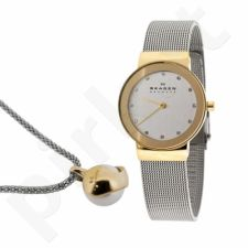 Laikrodis + Kaklo papuošalas Skagen SKW1055