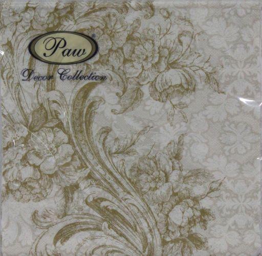 Servetėlės Baroque Style Gold 94973