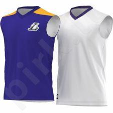 Marškinėliai dvipusiai krepšiniui   Adidas Los Angeles Lakers Y Summer Run Junior AO2167
