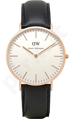 Laikrodis DANIEL WELLINGTON SHEFFIELD ROSE GOLD